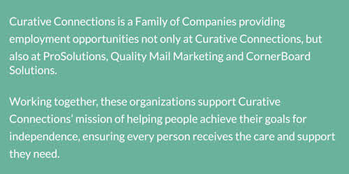 Curative Connections | Quality Mail Marketing